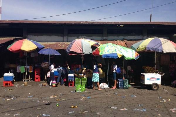 Mercadito in Chinandega Nicaragua