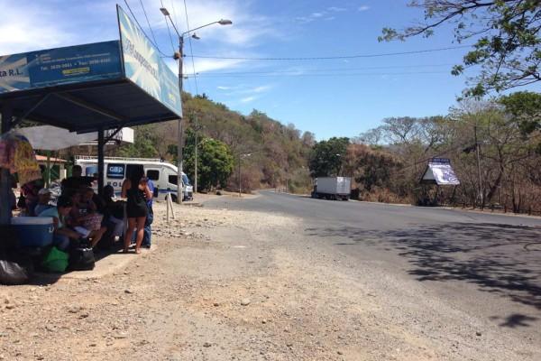 Barranca bus stop