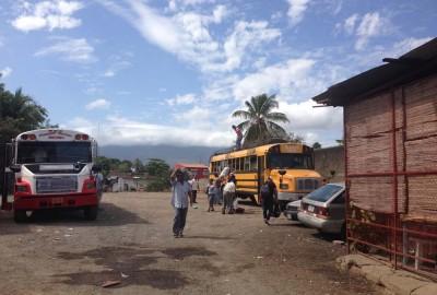 Granada bus to Rivas