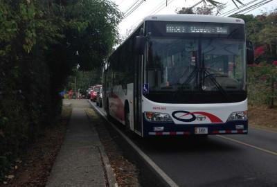 Bus from Manuel Antonio to Quepos