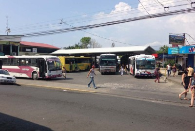Quepos Bus station
