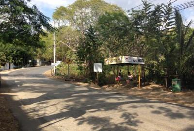 Main bus stop, Samara Costa Rica