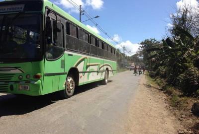 Bus in Santa Teresa