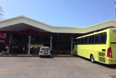 Tracopa Station in Uvita