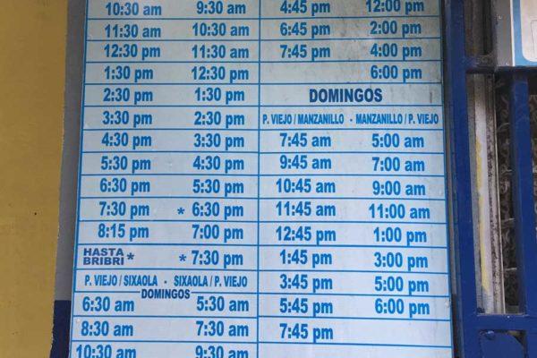 Puerto Viejo de Talamanca Bus Terminal