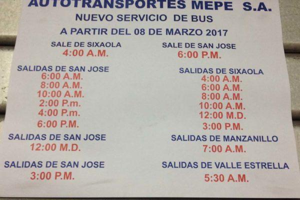Terminal Mepe San Jose Costa Rica