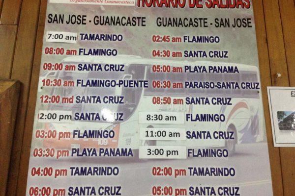 Terminal Tralapa San Jose Costa Rica