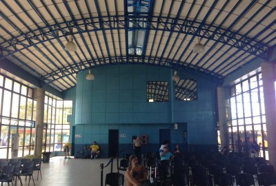 Inside the Puntarenas bus station, Costa Rica