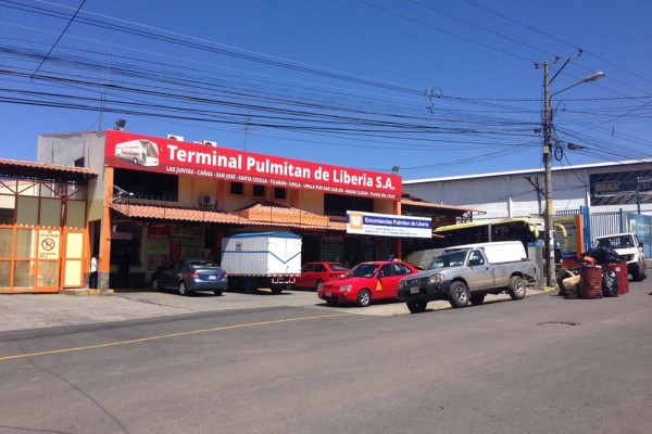 Pulmitan de Liberia station in San Jose, Costa Rica