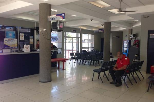 Tica bus station San Jose, Costa Rica