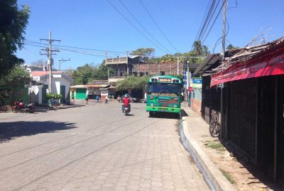 Bus to San Miguel from El Cuco