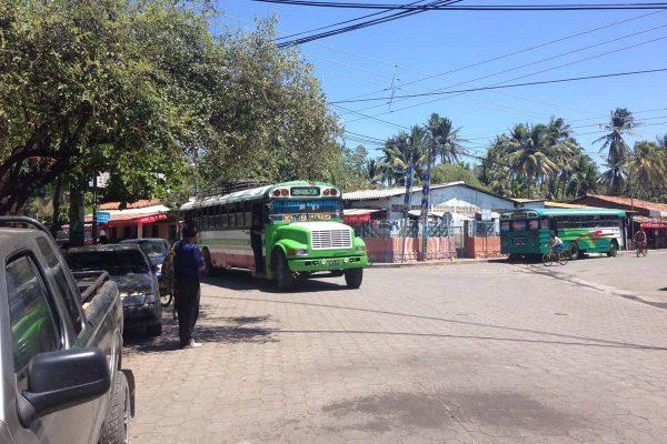 Bus to San Miguel from El Cuco