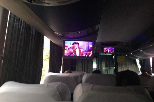Super Especial Bus 301 from San Salvador to San Miguel