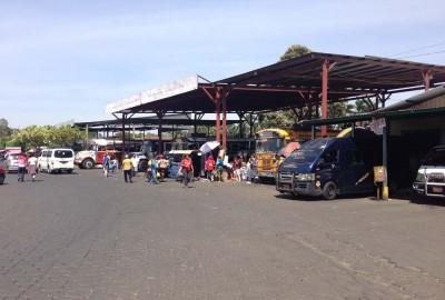 Mercado Bisne. Chinandega main terminal
