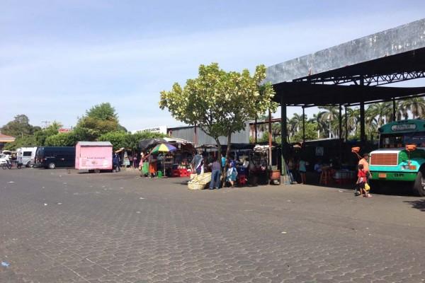 Main bus terminal, Chinandega Nicaragua