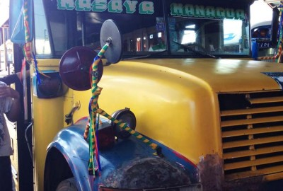 Bus heading to Masaya Nicaragua