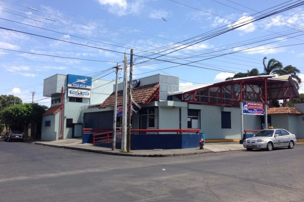 TICA BUS Station in Managua Nicaragua