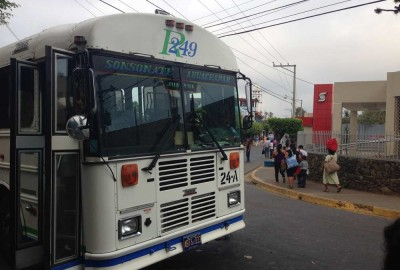 Bus 249 from Juayua to Ahuachapan