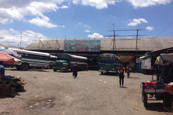 Terminal de Buses Francisco Lara Pineda, Santa Ana, San Salvador