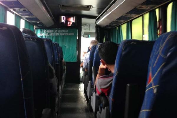 TUDO bus Santa Ana to San Salvador
