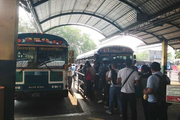 Terminal de buses Sonsonate, El Salvador