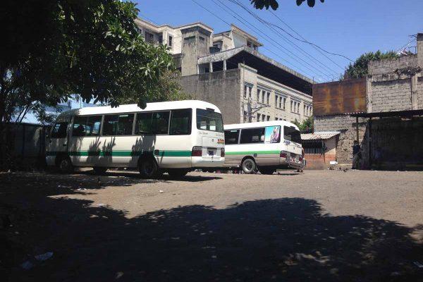 Terminal de microbuses ruta 138 San Salvador