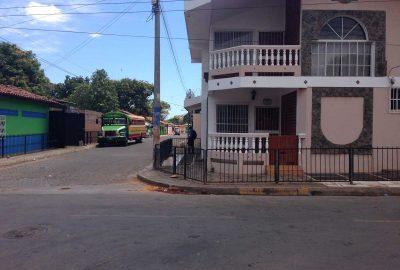 Intipucá bus stop, El Salvador