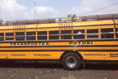 Chicken bus from Chinandega to Potosi