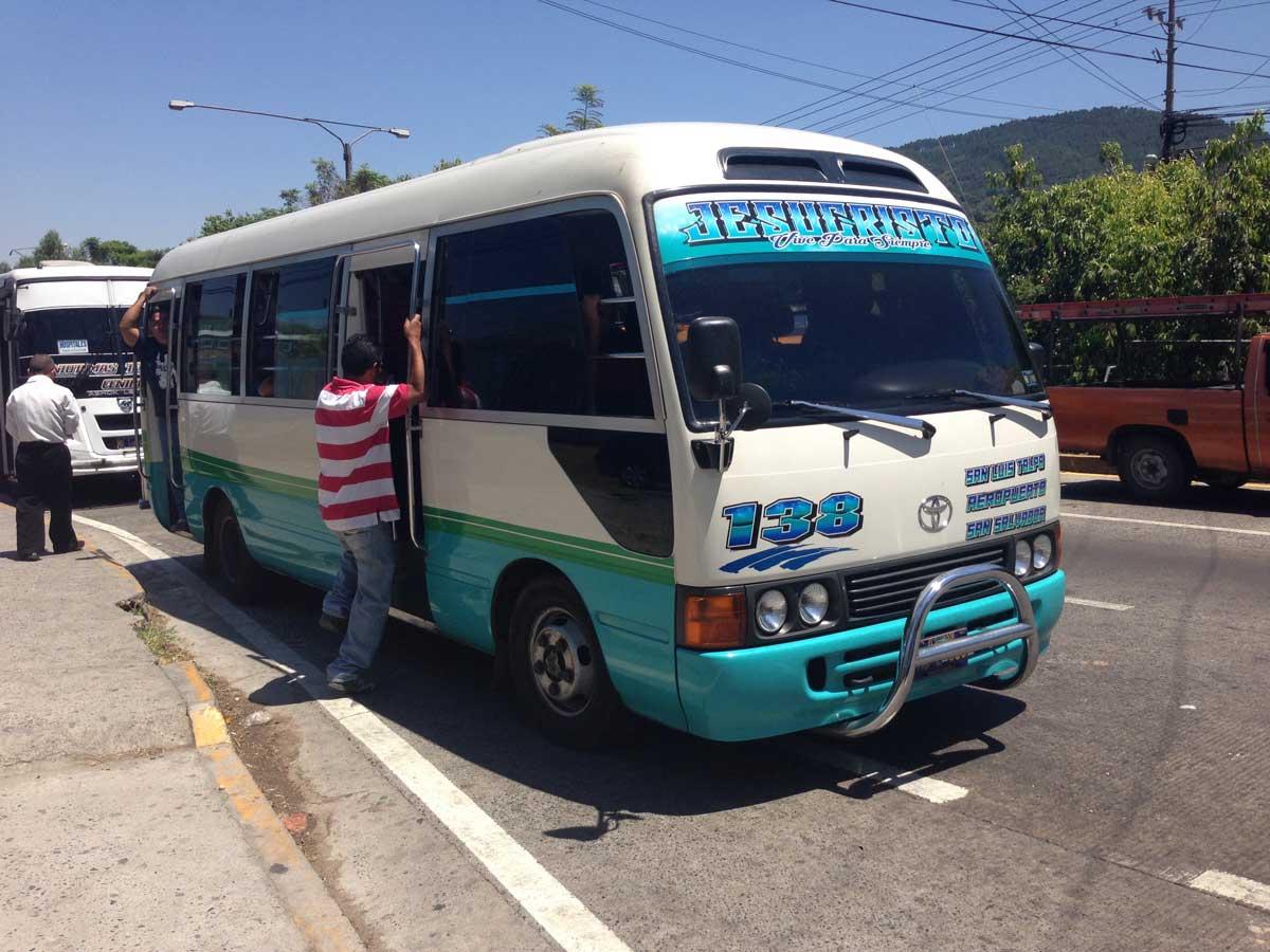Airport - El Salvador International - El Salvador - Bus Travel Guide