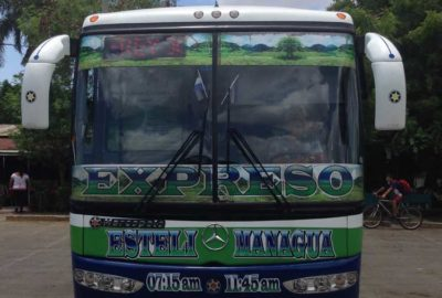 Expreso Bus to Esteli Nicaragua
