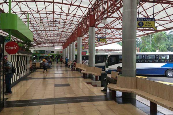 Terminal Guapiles Costa Rica