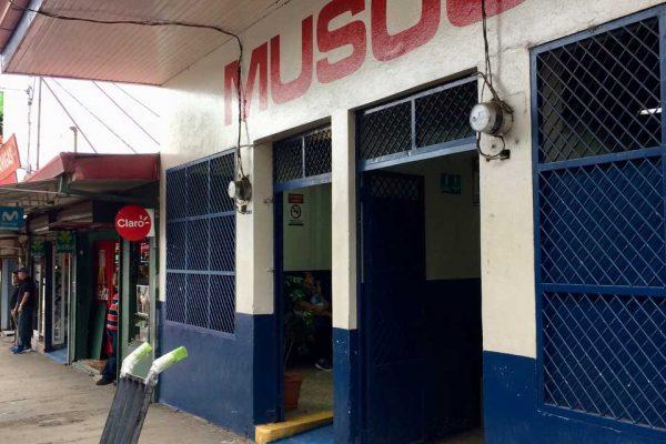 San Isidro de el General bus terminal, Costa Rica