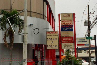 Terminal MUSOC San Jose Costa Rica